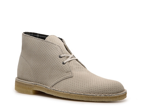 Ghete Clarks Originals - Perforated Desert Boot - Grey