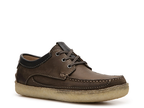 Pantofi Clarks Originals - Suomi Camp Oxford - Brown/Chocolate Brown Trim