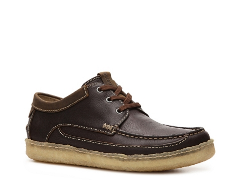 Pantofi Clarks Originals - Suomi Camp Oxford - Chocolate Brown/Brown Trim