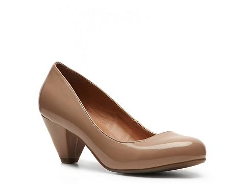 Pantofi Zigi Soho - Serenity Patent Pump - Nude