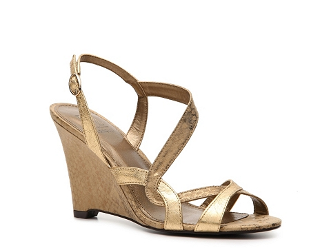 Sandale M by Marinelli - Bell Wedge Sandal - Gold