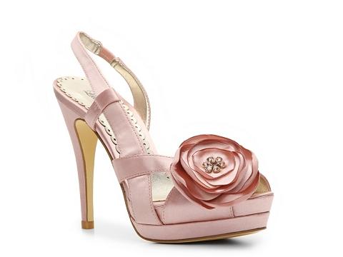 Sandale Lulu Townsend - Andrea Platform Sandal - Blush Pink