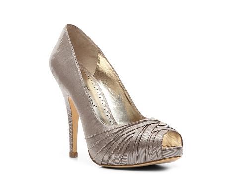 Pantofi Lulu Townsend - Gretchen Metallic Pump - Champagne