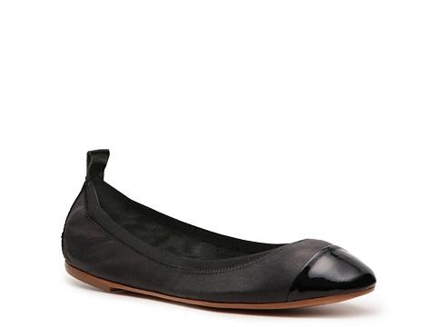 Balerini Mercanti Fiorentini - Cap toe Flat - Black
