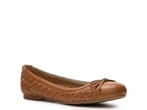 Balerini Mercanti Fiorentini - Leather Bow Flat - Tan