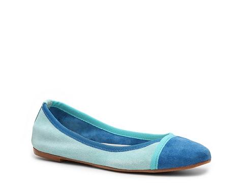 Balerini Mercanti Fiorentini - Color Block Flat - Blue