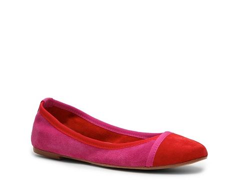 Balerini Mercanti Fiorentini - Color Block Flat - Red