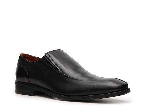Pantofi Mike Konos - Bradley Slip-On - Black