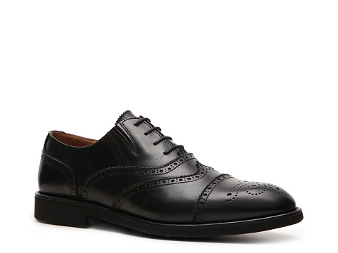 Pantofi Mike Konos - Cap Toe Oxford - Black