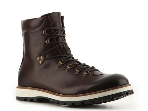 Pantofi Mike Konos - Burnished Leather Boot - Brown