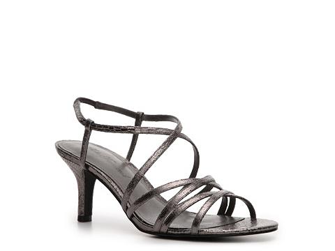 Sandale Lulu Townsend - Gladia Croc Sandal - Gunmetal