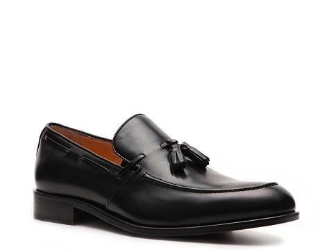 Pantofi Mercanti Fiorentini - Tassel Slip-On - Black