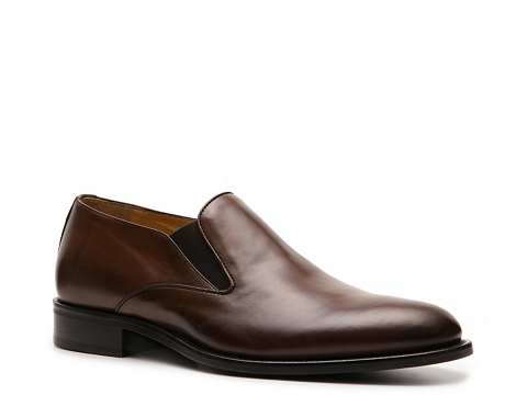 Pantofi Mercanti Fiorentini - Burnished Slip-On - Cognac