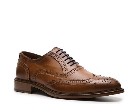 Pantofi Mercanti Fiorentini - Wingtip Oxford - Tan/Navy