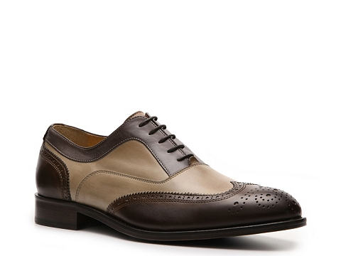 Pantofi Mercanti Fiorentini - Wingtip Oxford - Brown/Beige/Taupe
