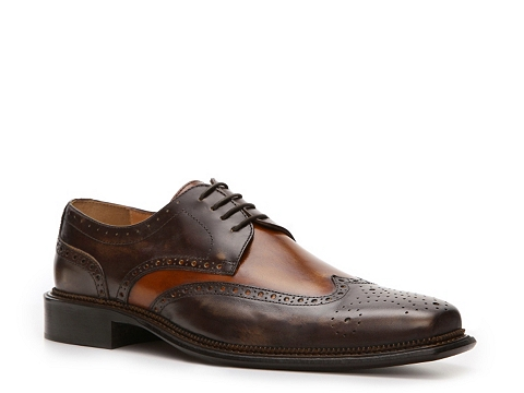 Pantofi Mercanti Fiorentini - Bello Wingtip Oxford - Brown/Cognac
