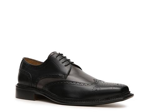 Pantofi Mercanti Fiorentini - Bello Wingtip Oxford - Black/Grey