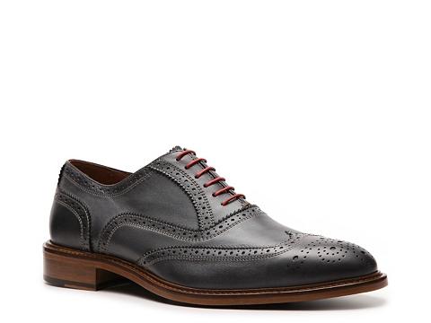 Pantofi Mercanti Fiorentini - Wingtip Oxford - Grey/Red