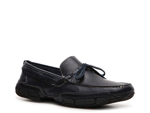 Pantofi Mercanti Fiorentini - Tie Loafer - Navy Blue
