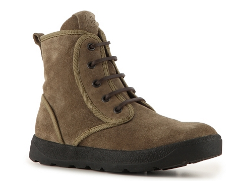 Ghete Moncler - Suede Selva Boot - Olive Green