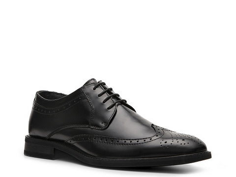 Pantofi Natha Studio - Adrian Wingtip Oxford - Black