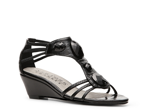 Sandale New York Transit - Value Wedge Sandal - Black