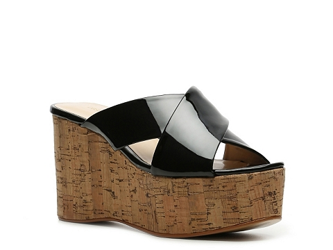 Sandale Obsession Rules - Dominique Wedge Sandal - Black