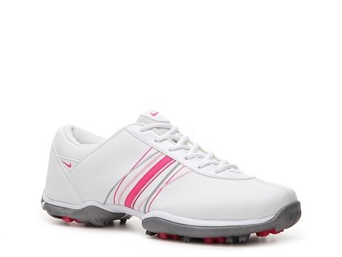 Adidasi Nike Golf - Nike Delight Golf Shoe - Womens - White/Grey/Pink