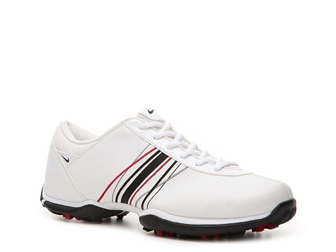 Adidasi Nike Golf - Nike Delight Golf Shoe - Womens - White/Black/Red/Grey