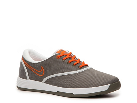 Adidasi Nike Golf - Nike Lunar Duet Classic Golf Shoe - Womens - Tan/Orange/White