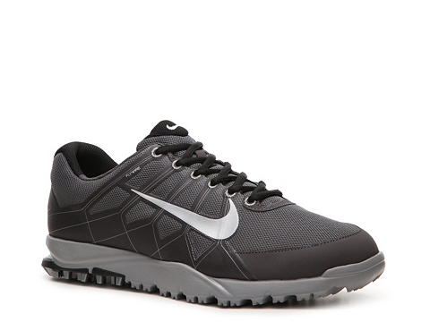 Adidasi Nike Golf - Nike Air Range WP II Golf Shoe - Mens - Grey/Black/White