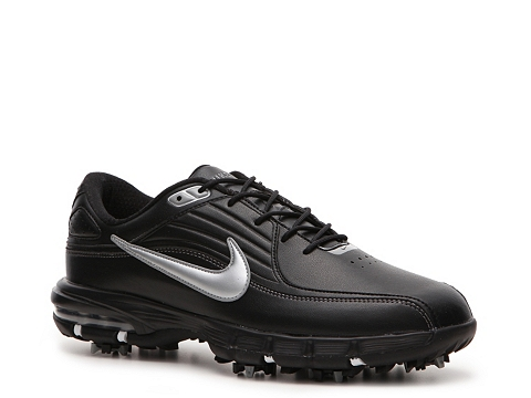 Adidasi Nike Golf - Nike Air Rival Golf Shoe - Mens - Black/Silver