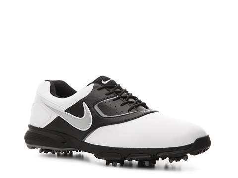 Adidasi Nike Golf - Nike Heritage Golf Shoe - Mens - Black/White/Grey