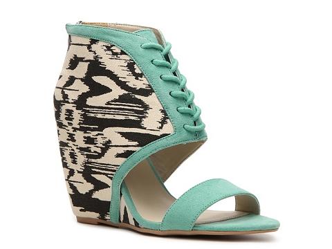 Sandale Qupid - Flix-01 Wedge Sandal - Mint Green