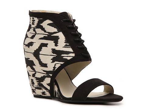 Sandale Qupid - Flix-01 Wedge Sandal - Black