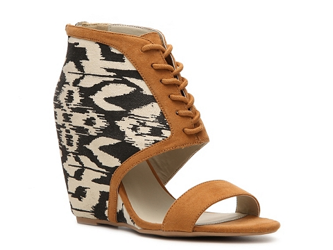 Sandale Qupid - Flix-01 Wedge Sandal - Rust