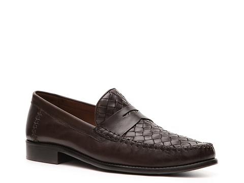 Pantofi Robert Zur - Woven Loafer - Brown