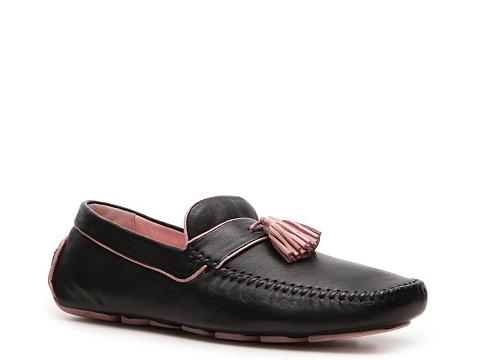Pantofi Robert Zur - Bermuda Loafer - Black/Pink