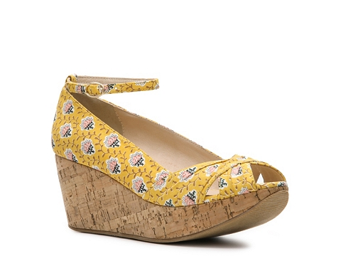 Pantofi Restricted - Lolly Wedge Pump - Yellow