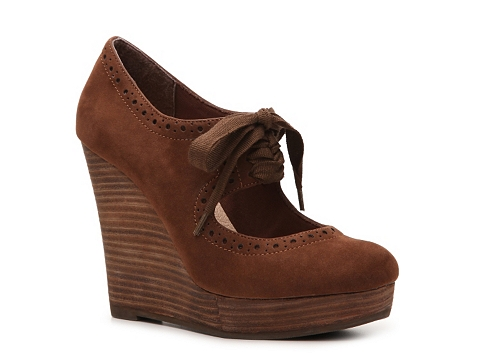 Pantofi Restricted - Reaction Wedge Heel - Brown