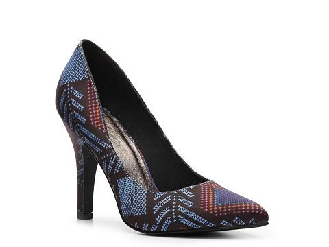 Pantofi Restricted - Jelly Kat Pump - Blue/Red