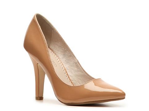 Pantofi Restricted - Jellybean Pump - Nude