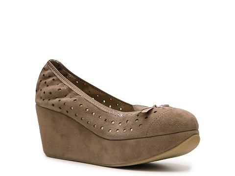 Pantofi Restricted - Deane Wedge Pump - Taupe
