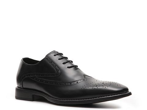 Pantofi J75 by Jump - Windsor Wingtip Oxford - Black
