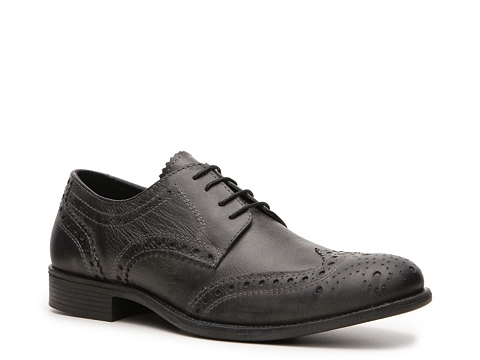 Pantofi Studio Ink - Neville Wingtip Oxford - Black
