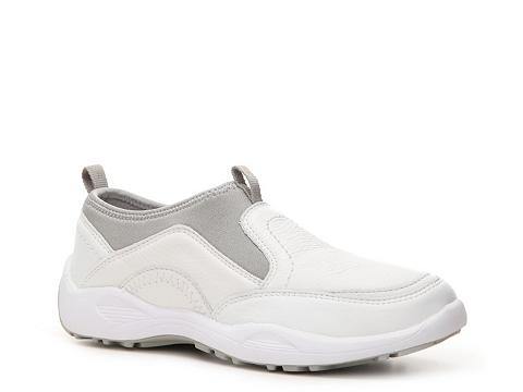 Adidasi Propet - Wash & Wear Walking Shoe - Womens - White/Grey