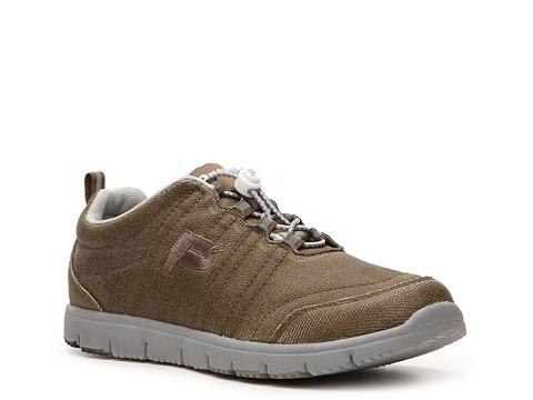 Adidasi Propet - Travel Walker Walking Shoe - Womens - Olive Green/Grey