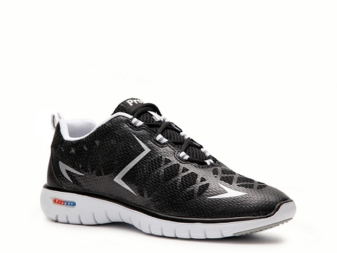 Adidasi Propet - Travel Sport Lightweight Sneaker - Womens - Black/Silver