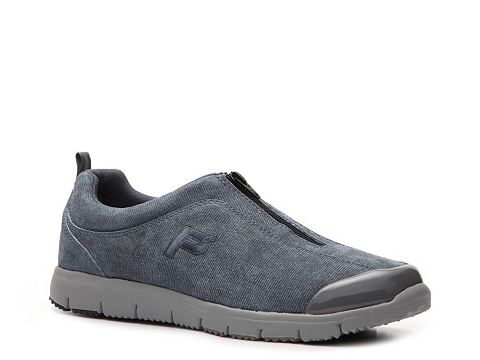 Adidasi Propet - Travel Walker Denim Slip-On Walking Shoe - Womens - Light Blue Denim