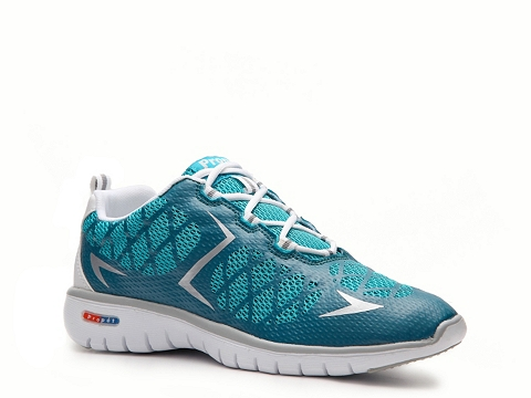 Adidasi Propet - Travel Sport Lightweight Sneaker - Womens - Blue/Silver/White